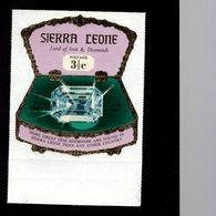 632131168 SIERRA LEONE 1970 ** MNH SCOTT 410 SEWA DAIDEM IN JEWELRY BOX DAIMONDS - Sierra Leone (1961-...)