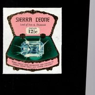 632132170 SIERRA LEONE 1970 ** MNH SCOTT 412 SEWA DAIDEM IN JEWELRY BOX DAIMONDS - Sierra Leone (1961-...)