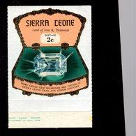 632132944 SIERRA LEONE 1970 ** MNH SCOTT 409 SEWA DAIDEM IN JEWELRY BOX DAIMONDS - Sierra Leone (1961-...)