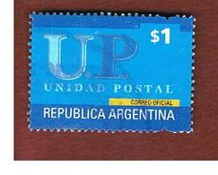 ARGENTINA - SG 2810  - 2001 POSTAL AGENT : $ 1    -    USED ° - Argentina