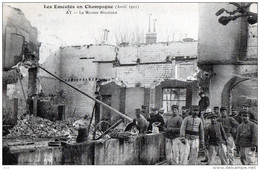 51 - Ay - Emeutes En Champagne 1911- Maison Bissinger - Ay En Champagne