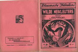 Vlaamsche Filmkens Nr 26 Wilde Heikleuters Door Herman ( Averbode's Jeugdbibliotheek ) - Books, Magazines, Comics