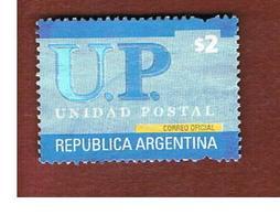 ARGENTINA -  MI 2733  - 2002  POSTAL AGENT : $ 2   -    USED ° - Argentina