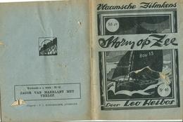 Vlaamsche Filmkens Nr 40 Storm Op Zee Door Leo Heibos ( Averbode's Jeugdbibliotheek ) - Books, Magazines, Comics