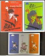 3 Cartes Postales : Babette S'en Va-t-en Guerre (cinéma Affiche Film) Brigitte Bardot - Posters On Cards