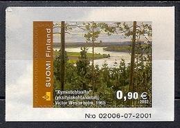 Finland 2002 - Finnish Landscape - Self-Adhesive Stamp MINT - Finlande