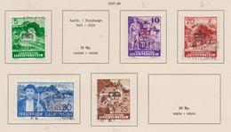 LIECHTENSTEIN Service 1937-38:   Timbres Oblitérés ,    TTB - Liechtenstein