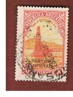 ARGENTINA -  O675 OFFICIAL STAMPS   -  1936 OIL WELL (OVERPRINTED) -    USED ° - Servizio