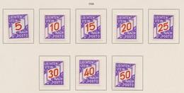LIECHTENSTEIN Taxe 1928:   Timbres Neufs* ,    TTB - Liechtenstein