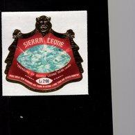 632142253 SIERRA LEONE 1970 ** MNH SCOTT C130 TREASURE OF SIERRA LEONE DAIMOND - Sierra Leone (1961-...)