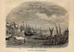 Séte Cette Hérault Magasin Pittoresque N° 17 De 1848 - 1800 - 1849