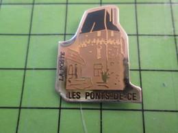 1018A Pin's Pins / Rare Et De Belle Qualité / THEME POSTE /  LA POSTE CHATEAU DU RECEVEUR ? LES PONTS-DE-CE - Correo