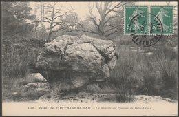 La Morille Du Plateau De Belle-Croix, Forêt De Fontainebleau, 1916 - Dulac CPA - Fontainebleau