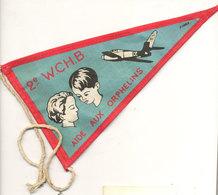 Florennes  2eme Wing   Fanion   1960 - Autres Collections