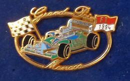 Pins TRES ANCIENNE PIN'S F1 MONACO De 1994 BENETTON - F1