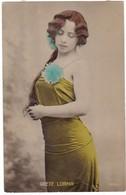 8724 German Postcard Mailed 1909: Greta Lorma, Austrian Actress, Theatre Star - Teatro