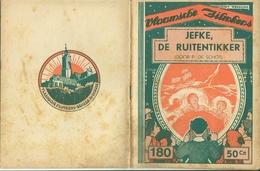 Vlaamsche Filmkens Nr 180 Jefke, De Ruitentikker Door P. De Schot ( Averbode's Jeugdbibliotheek ) - Livres, BD, Revues