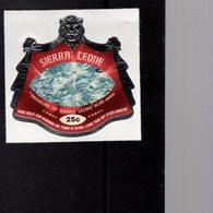 632145499 SIERRA LEONE 1970 ** MNH SCOTT C128 TREASURE OF SIERRA LEONE DAIMOND - Sierra Leone (1961-...)