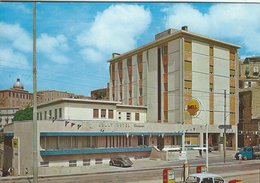 Jolly Hotel & Shell Sign.  Piazza Armerina Italy. # 03823 - Hotels & Restaurants