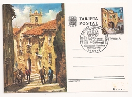 España, Postal Noya, MALTESE CROSS - 1931-Hoy: 2ª República - ... Juan Carlos I