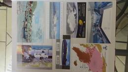 Très Belle Collection Timbres Et Blocs ** Du Monde Côte Sympa. - Stamps