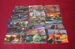 STAR  WARS   ° WIDEVISION CHECKLIST  ° LUCAS FILM 2005 LTD ° PUBLISHER IRA FRIEDMAN  TOTAL DE 80 CARTES - Cinema Advertisement