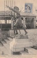 34/ Paulhan -  Ecole Primaire Superieure Professionnnelle De Garcons - Le Boy-Scout De L'Entrée , Bronze De M Remondot - Paulhan
