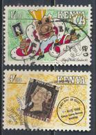 °°° KENYA - Y&T N°521/22 - 1990 °°° - Kenya (1963-...)