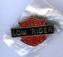 BIG Pin's Neuf MOTOR CYCLES LOW RIDER HARLEY MOTO MOTARD BIKER - Motorbikes