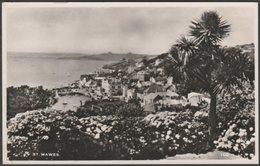 General View, St Mawes, Cornwall, 1968 - DEM Thomas RP Postcard - England