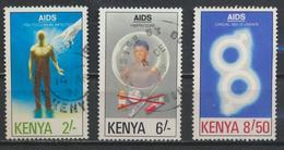 °°° KENYA - Y&T N°534/36 - 1991 °°° - Kenia (1963-...)