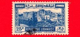 LIBANO - Usato - 1945 - Paesaggi - Castello Dei Crociati A Tripoli - Crusader Castle - 25 - Libano