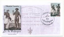Polynésie Française => 2 Enveloppes FDC - Les Iles Washington - 2006 - FDC
