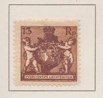 LIECHTENSTEIN 1921:   Timbre Neuf*,    TTB - Collections