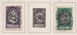 LIECHTENSTEIN 1921:   Timbres Oblitérés,    TTB - Liechtenstein