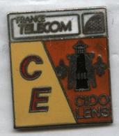 Pin's France Télécom CIDO Lens Mine Mineur - France Telecom