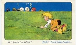 BILLARD - Ah, Chouette Un Billard - Illust : Mich - Autres