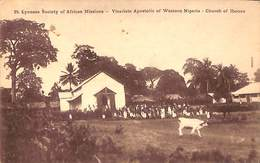Lyonese Society Of African Missions - Vicariate Apostolic Of Wester Nigeria - Church Of Ibouzo - Nigeria