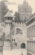 ALEMAGNE - HESSE - WIESBADEN. - Das Römertor. Animée. J. Levi, Wiesbaden. 1909 N° 40 - Wiesbaden