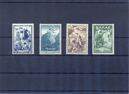 Greece 1952 Gramos Vitsi MNH LUX VF/XF - Greece