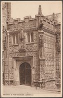 Porchway, St Mary Magdalene, Launceston, Cornwall, 1953 - Postcard - England