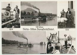 AK  Sächsisch Böhmische Dampfschiffahrt - Passagiersschepen