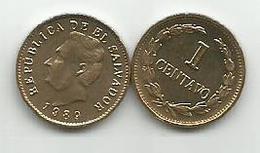 El Salvador 1 Centavo 1989. High Grade - El Salvador