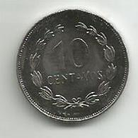 El Salvador 10 Centavos  1995. High Grade - El Salvador