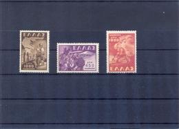 Greece 1949 Children Abduction  MNH LUX VF/X - Griechenland