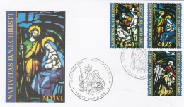 A16557)Vatikan 1566 - 1568 A FDC - FDC
