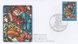 A16589)Vatikan 1600 FDC - FDC