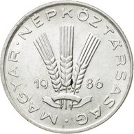 Monnaie, Hongrie, 20 Fillér, 1986, Budapest, TTB+, Aluminium, KM:573 - Hongrie