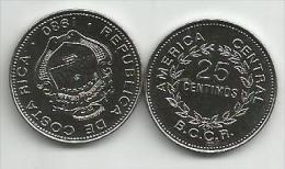 Costa Rica 25 Centimos 1980. High Grade - Costa Rica