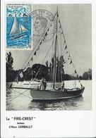 Frankreich France 1970 - Segelboot Von Alain Gerbault - MiNr 1694 MK - Segeln